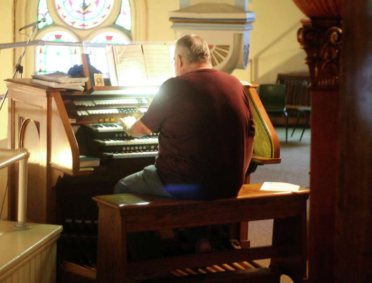 Classical pianist Nakita Sokolov performed during a free concert at Guardian Angels Church in Manistee in late June. The event was hosted by the Guardian Angels Historic Preservation Project. Two more events are slated for this week to benefit the project. (File photo)