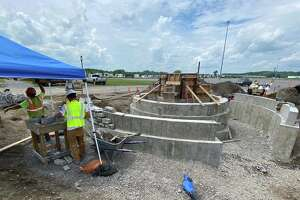 The memorial to fallen highway workers will be located near the midway entrance and west of the Horticulture Building on the fairgrounds.