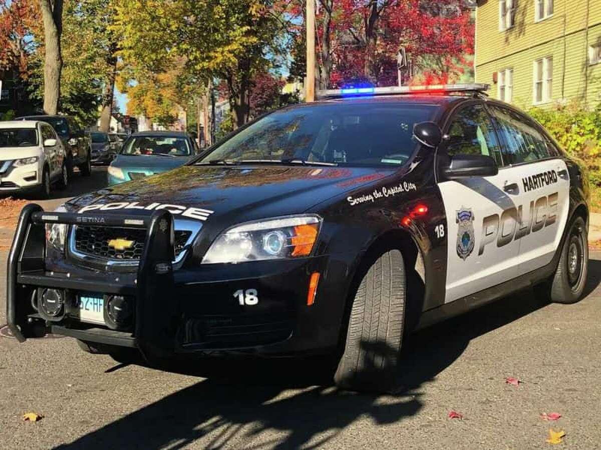 A Hartford police car.
