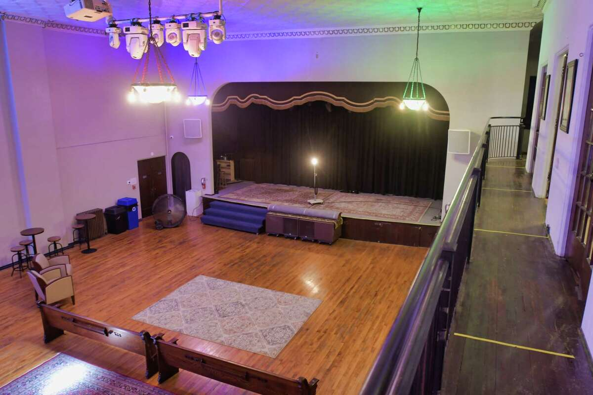 A view inside at Lark Hall, a new performance space, on Wednesday, July 14, 2021, in Albany, N.Y. (Paul Buckowski/Times Union)