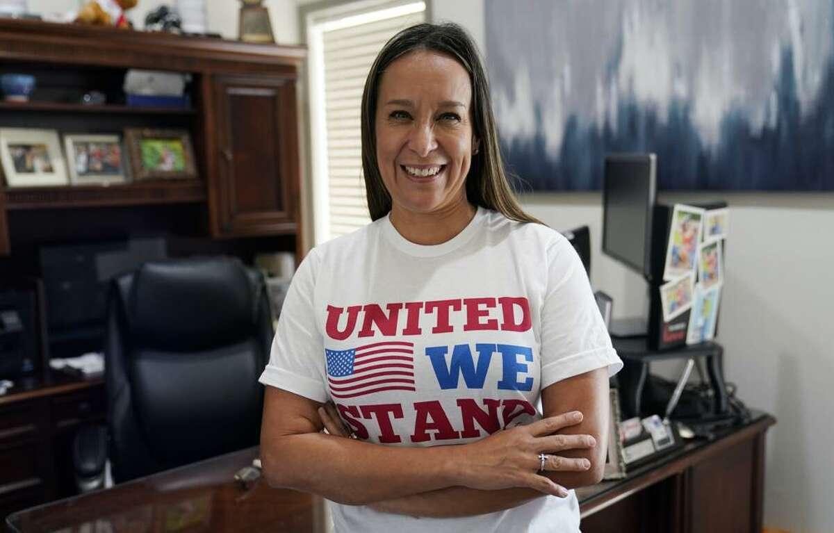 Republican Monica De La Cruz-Hernandez in Alamo, Texas on Thursday, July 8, 2021.