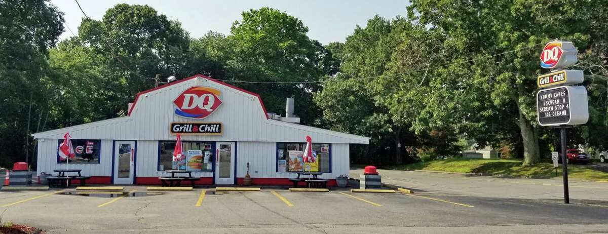 One of the oldest Dairy Queens in Westbrook, has employed generations of local families since the 1960s. Taken July, 2021.