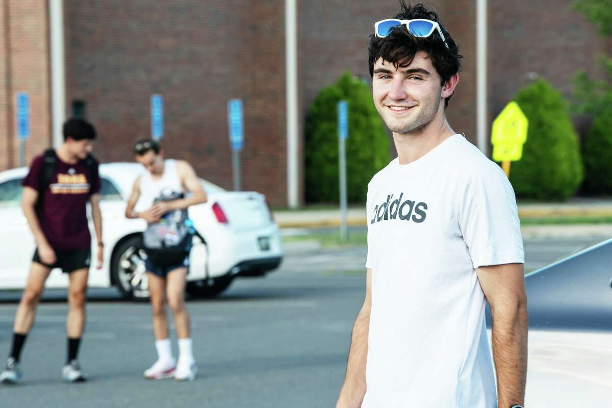 Peter Schulten of Durham, 23, is the town's new Fun Run race series director. For the past 15 years, he has mentored young athletes of all ages, encouraging them to engage in physical activity in order to foster a lifetime love of exercise.