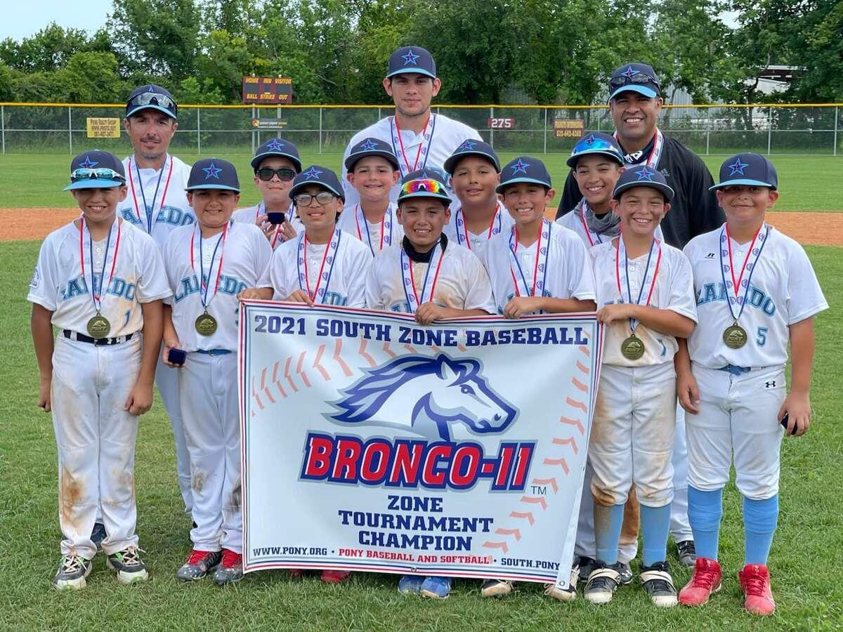 The Laredo Bronco 11U team claimed a World Series spot on Saturday.