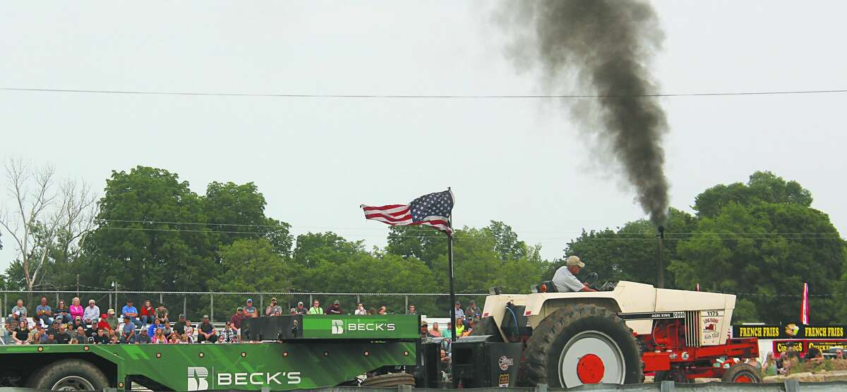 Friday night's tractor pull marked the penultimate night of grandstand events for this year's county fair.