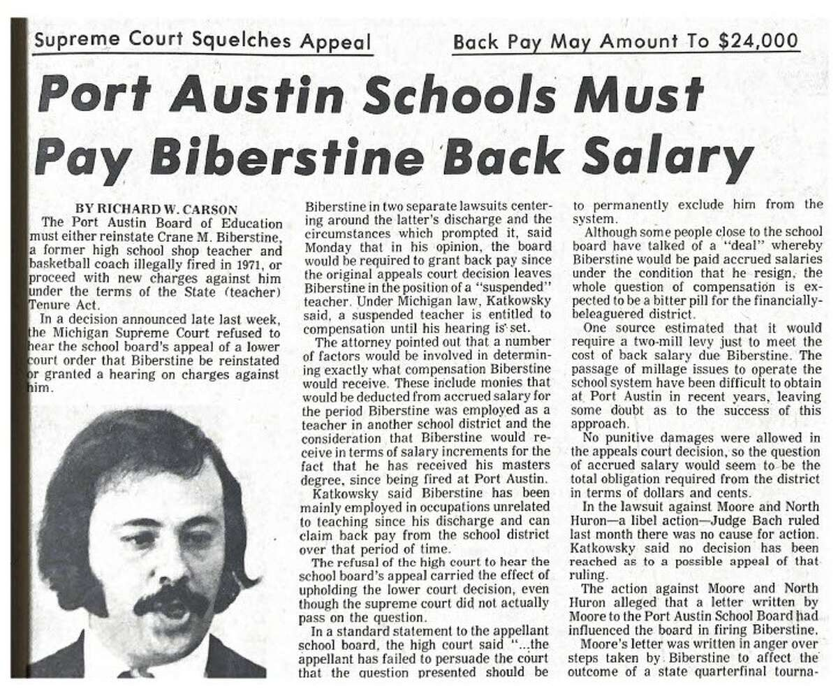For this week's Tribune Throwback we take a look in the archives from the month of July 1974.