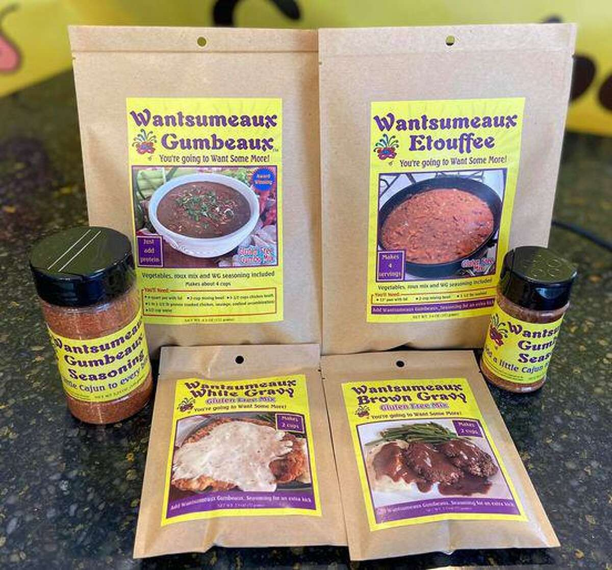 Siblings Susan Armand and Wes Pate started cooking gumbo competitively in 2006. Now they sell gluten-free dry mixes under their Wantsumeaux Gumbeaux team name.