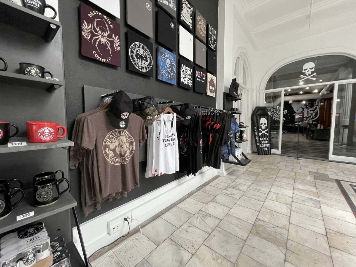 The new retail store at Death Wish Coffee Co.'s Saratoga Springs headquarters will host a grand-opening event on Friday, July 3, 2021. (Provided photo.)