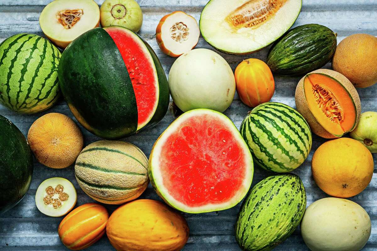 """Melons are just coming into their glory,"""" says author, gardener and heirloom produce advocate Amy Goldman."""