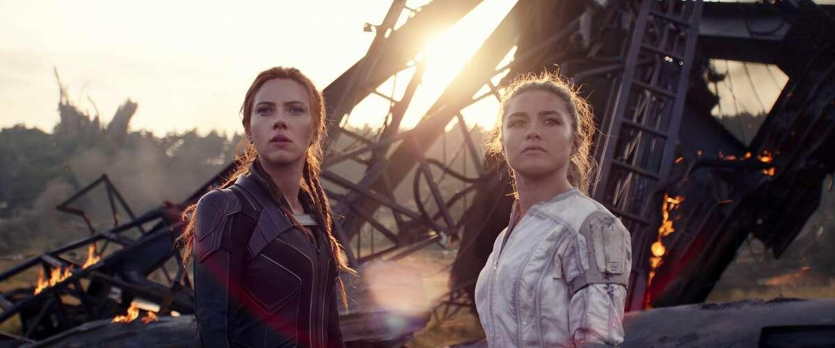 "Scarlett Johansson and Florence Pugh stars in ""Black Widow."""