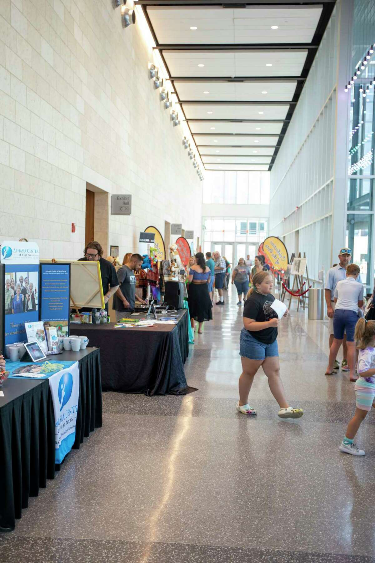 Scenes from the Celebration of the Arts on Saturday, July 17, 2021 at Bush Convention Center. Jacy Lewis/Reporter-Telegram