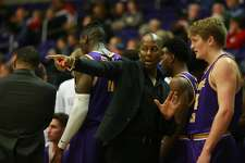 New Siena men's basketball assistant coach Marcus King worked at Tennessee Tech for the past two seasons and served as acting head coach for four games in 2020-21. (Tennessee Tech athletics)