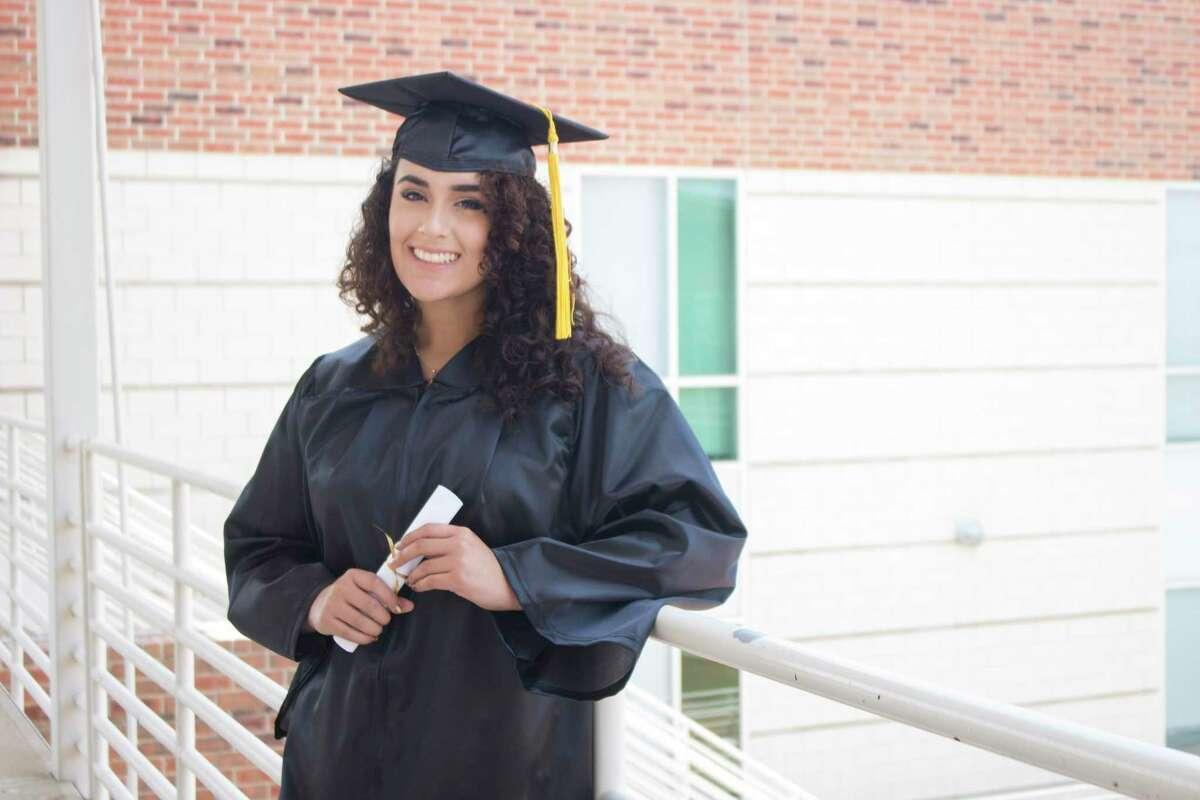 Laredo College graduate Daniela Gutierrez is currently attending UTSA.