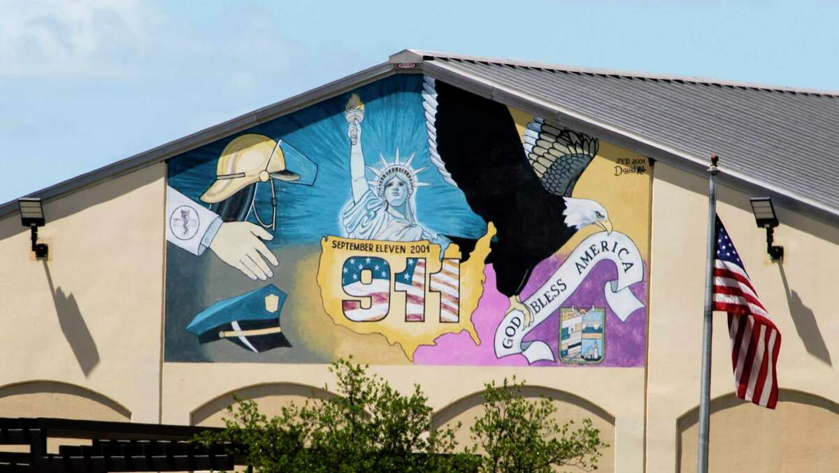 A mural by David M.G. is pictured at the North East Hillside Recreation Center on July 2.