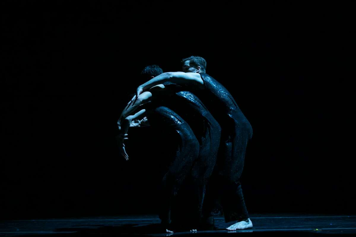 Fall 2020 Brian Brooks Dance Company at the Pillow Lab. Photo: Warren Woo