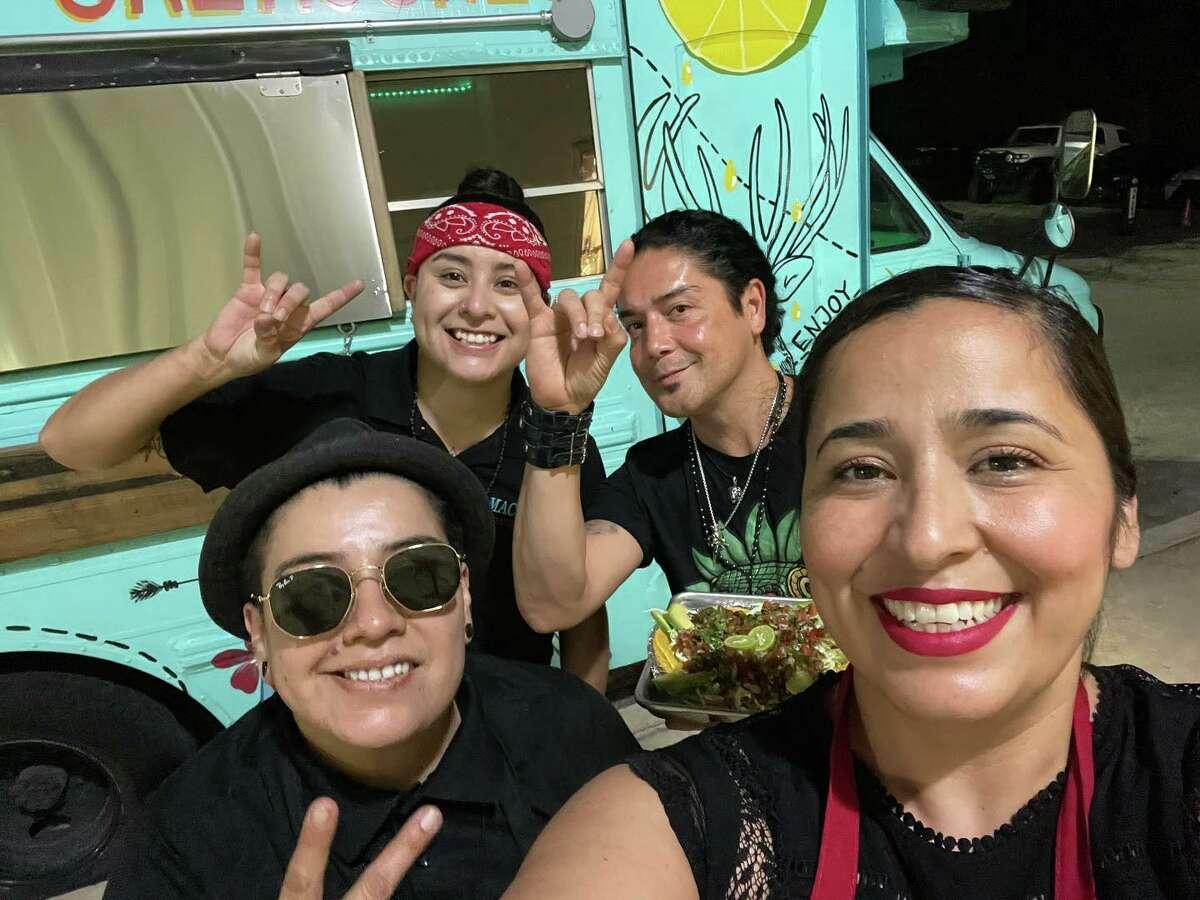 Rocker Chris Perez got a bite to eat at La Maceta Tapatios after performing at Picks Bar with Grupo Metal on Friday.