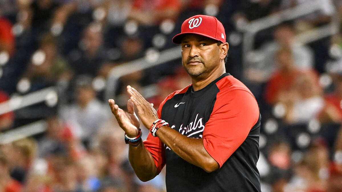 Manager Dave Martinez led the Nationals to a World Series title in 2019 and has emerged as a steady, compassionate voice in Washington.