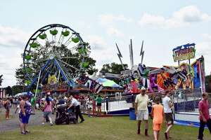 Crowds came out to enjoy the rides, the food, and the fun during the Mecosta County Fair last week. Fair board president John Currie said that it was the best one they have had. (For Pioneer/Joe Crew)