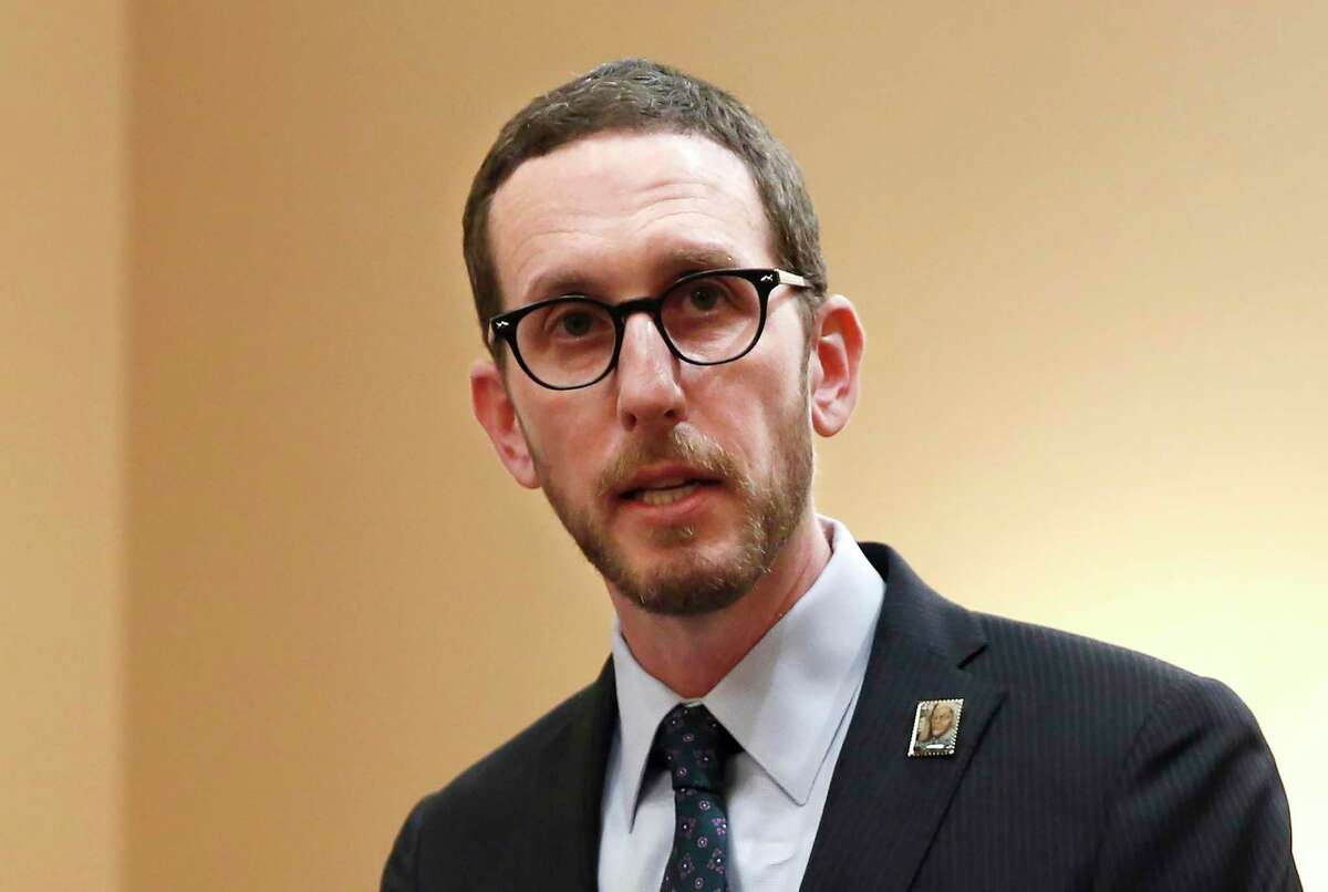 State Sen. Scott Wiener, D-San Francisco - his law prohibits staff members of long-term care facilities from knowingly and repeatedly referring to a resident with a name or pronoun different from those chosen by the resident.