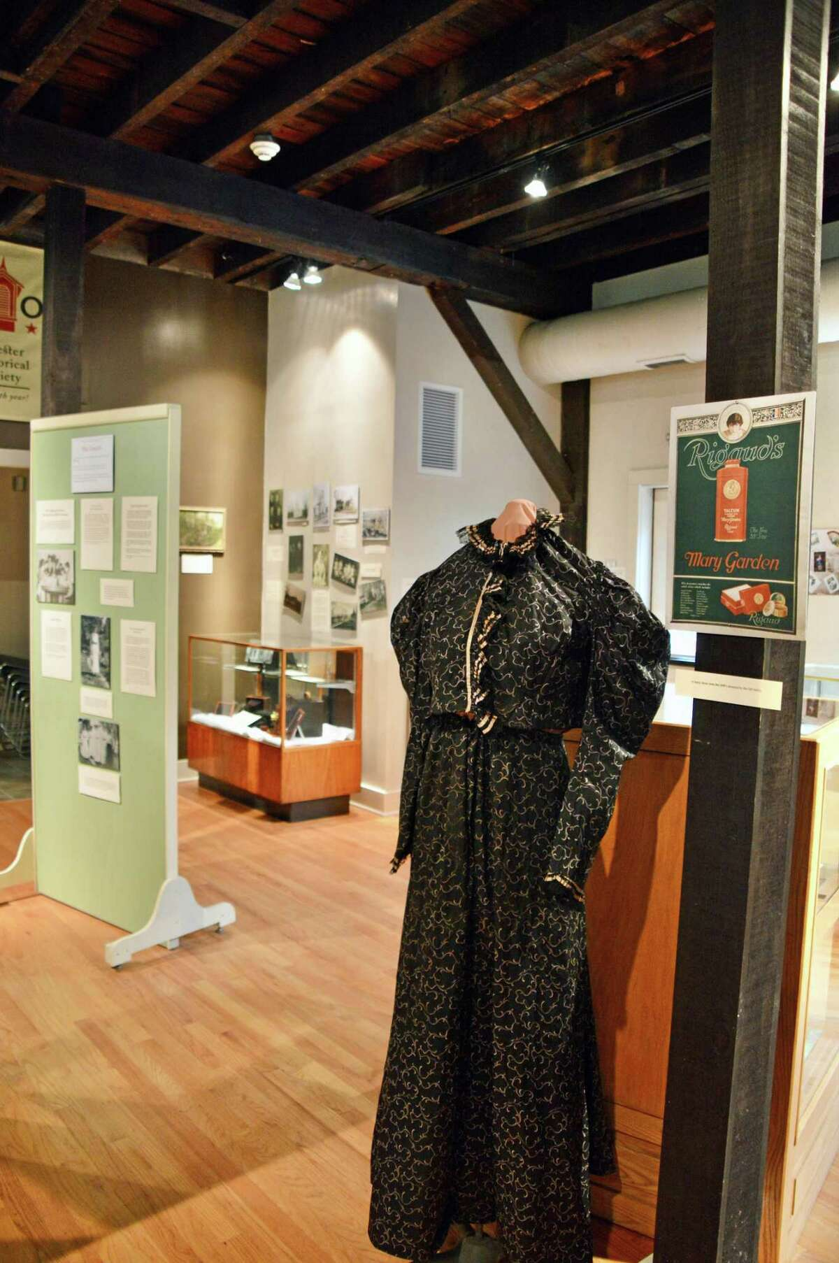 The exhibit, 'Before the Vote - Ahead of Their Time' tells the stories of women who were leaders in education, religion, culture, business and industry at the Chester Museum at The Mill.