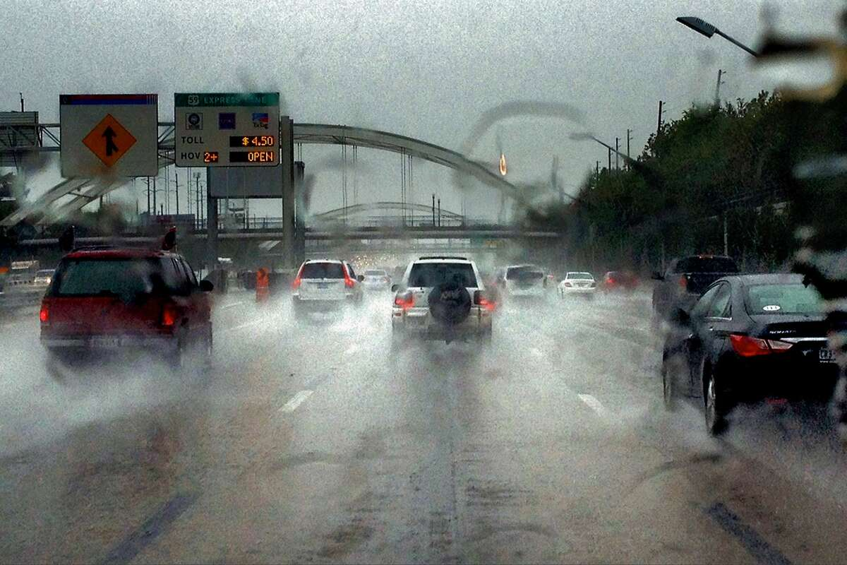 Storms Monday will make for a messy commute.