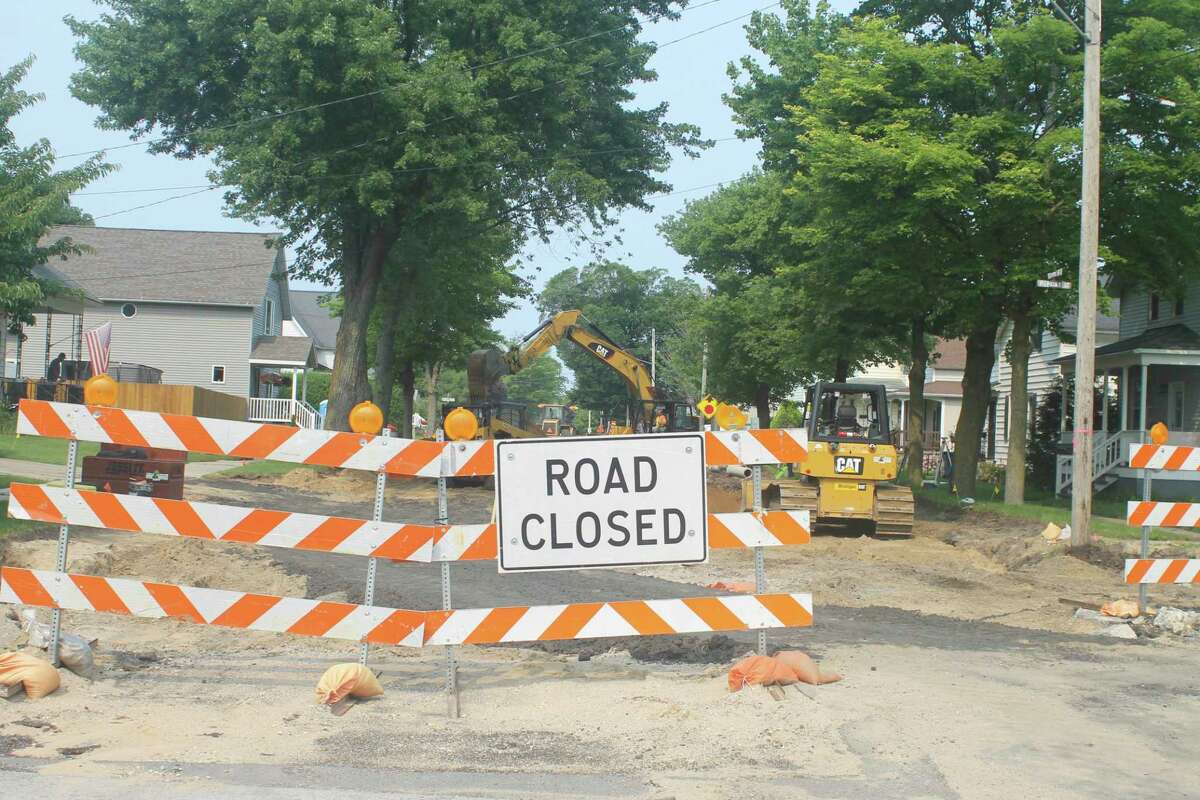 According to the city's latest list of project updates on Monday, work started on Eighth Street last week, the update shows that topsoil was stripped from the site and stored for recycling for later use in the project. Pavement, asphalt, concrete, curbs and driveway approaches were also removed from the street.(Kyle Kotecki/News Advocate)