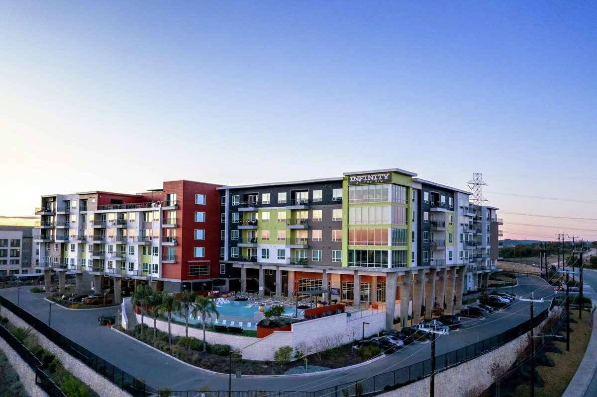 The 310-unit complex at 18130 Talavera Ridge was completed in 2018.