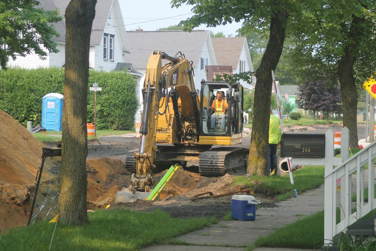 A national shortage of materials and supply chain woes stemming from the pandemic means that while projects like the Eighth Street storm sewer upgrades and roadway reconstruction project kicked off last week in the city, other planned Manistee projects are simply having to wait while the proper construction materials can be gathered.