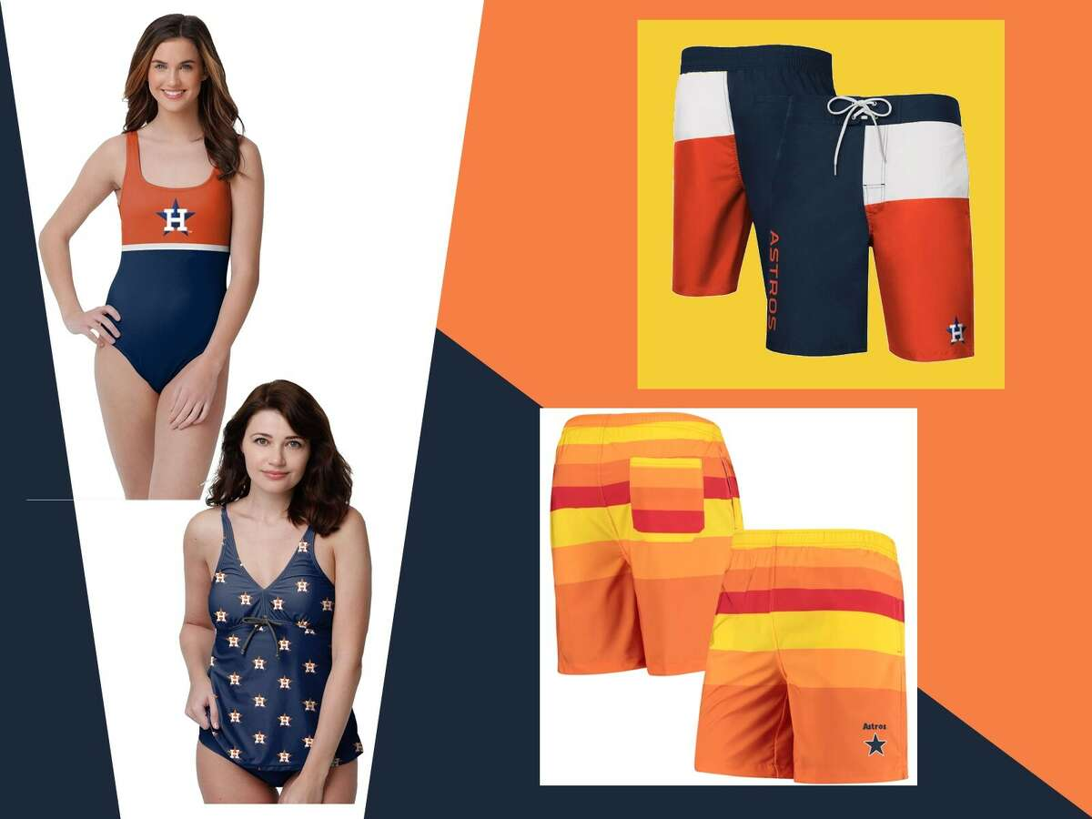Score big with Houston Astrosswimwear!