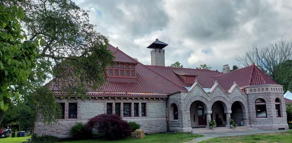 Pequot Library finished its roof restoration.