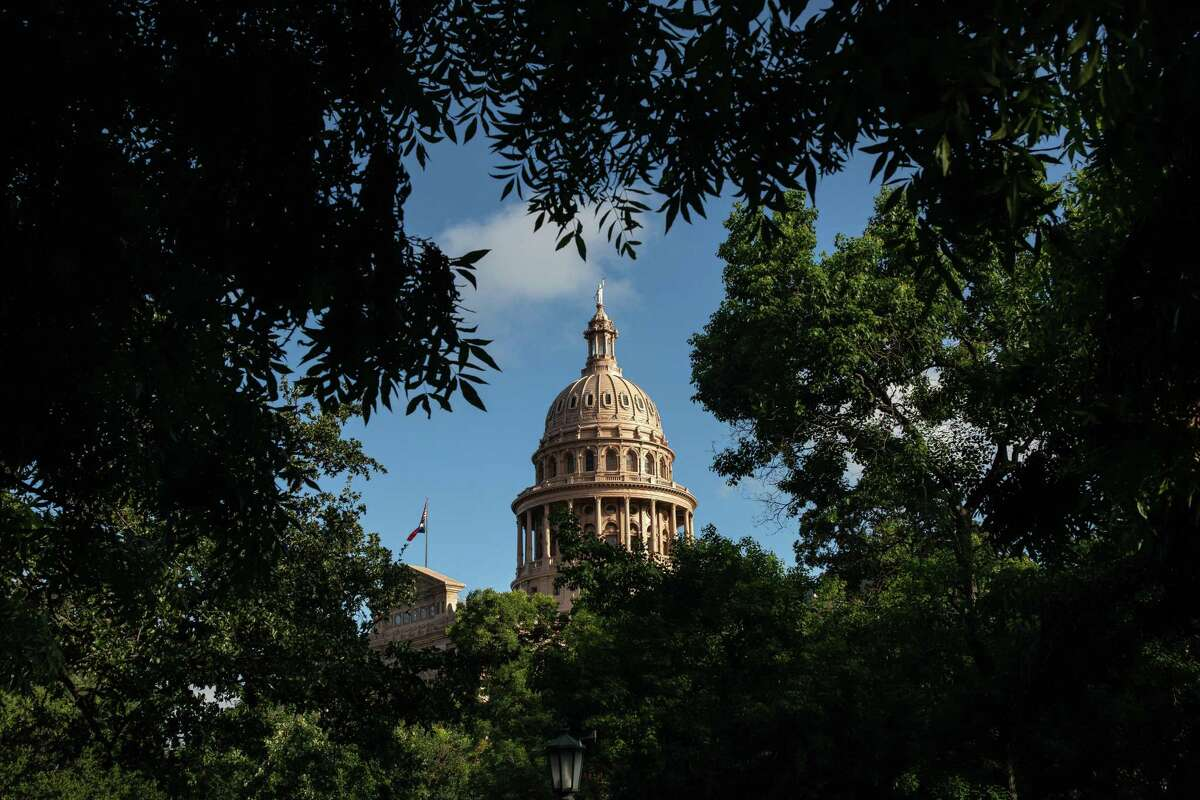 AUSTIN, TX - JULY 08: The Texas State Capitol is seen on the first day of the 87th Legislative Special Session on July 8, 2021 in Austin, Texas. Republican Gov. Greg Abbott called the legislature into a special session, asking lawmakers to prioritize his agenda items that include overhauling the states voting laws, bail reform, border security, social media censorship, and critical race theory. (Photo by Tamir Kalifa/Getty Images)