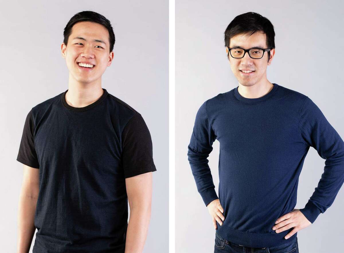Andy Fang and Stanley Tang, co-founders of Doordash