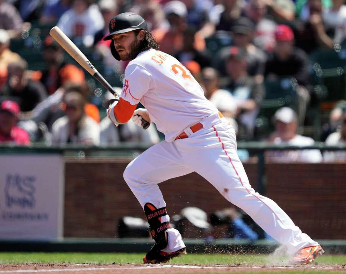 Giants shortstop Brandon Crawford is optimistic he'll be on the injured list the minimum 10 days.
