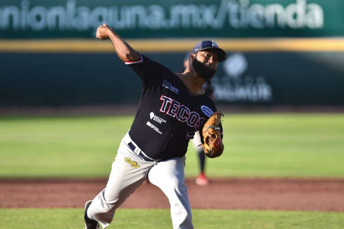 New Tecolotes reliever Wilking Rodrigeuz recorded four strikeouts in 1.2 innings of relief Sunday against Union Laguna.