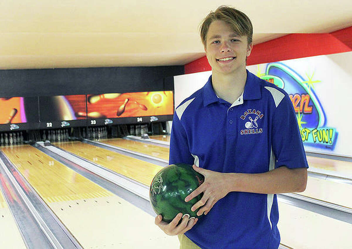 Roxana High School senior Logan Wonders put together a 210 average and helped the Shells to a 10-2 record in the abbreviated 2021 boys bowling season and is The Telegraph Boys Bowler of the Year. Wonders is heading to Missouri S&T, where he will major in mechanical engineering and kick for the football team.