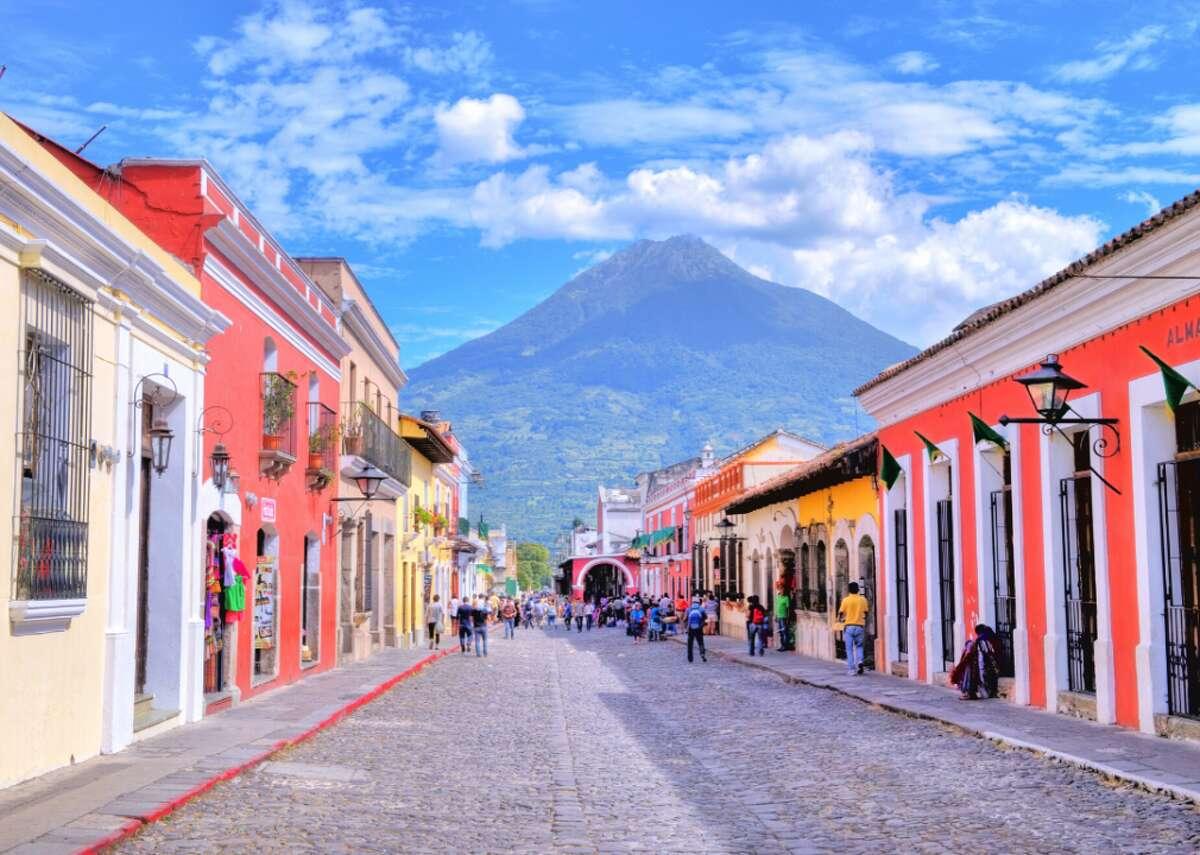 #50. Guatemala - Exports: $85.9 million- Largest exports:--- Special Classification Provisions, Nesoi ($26.1 million)--- Textile Art Nesoi; Needlecraft Sets; Worn Text Art ($16.7 million)--- Mineral Fuel, Oil Etc.; Bitumin Subst; Mineral Wax ($8.5 million)- Total trade: $223.2 million ($51.5 million trade deficit)- Imports: $137.3 million- Largest imports:--- Apparel Articles And Accessories, Knit Or Crochet ($53.5 million)--- Apparel Articles And Accessories, Not Knit Etc. ($43.8 million)--- Coffee, Tea, Mate & Spices ($19.8 million)