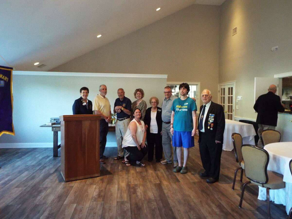 The Torrington Lions Club recently installed new officers for 2021-22. The new club president is Mike Yuchunas.