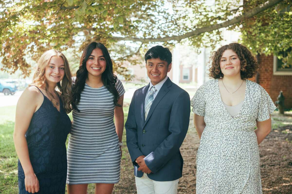 Maggie Bickford, of Canaan, and Nichole Aguilar, of Salisbury, are the 10th and 11th recipients of the $105,000 Margaret Derwin scholarship. The fund also awarded $5,000 each to Henry Lopez-Gonzalez, of Canaan, in 2020, and Natalie Wadsworth, of Falls Village, in 2021.