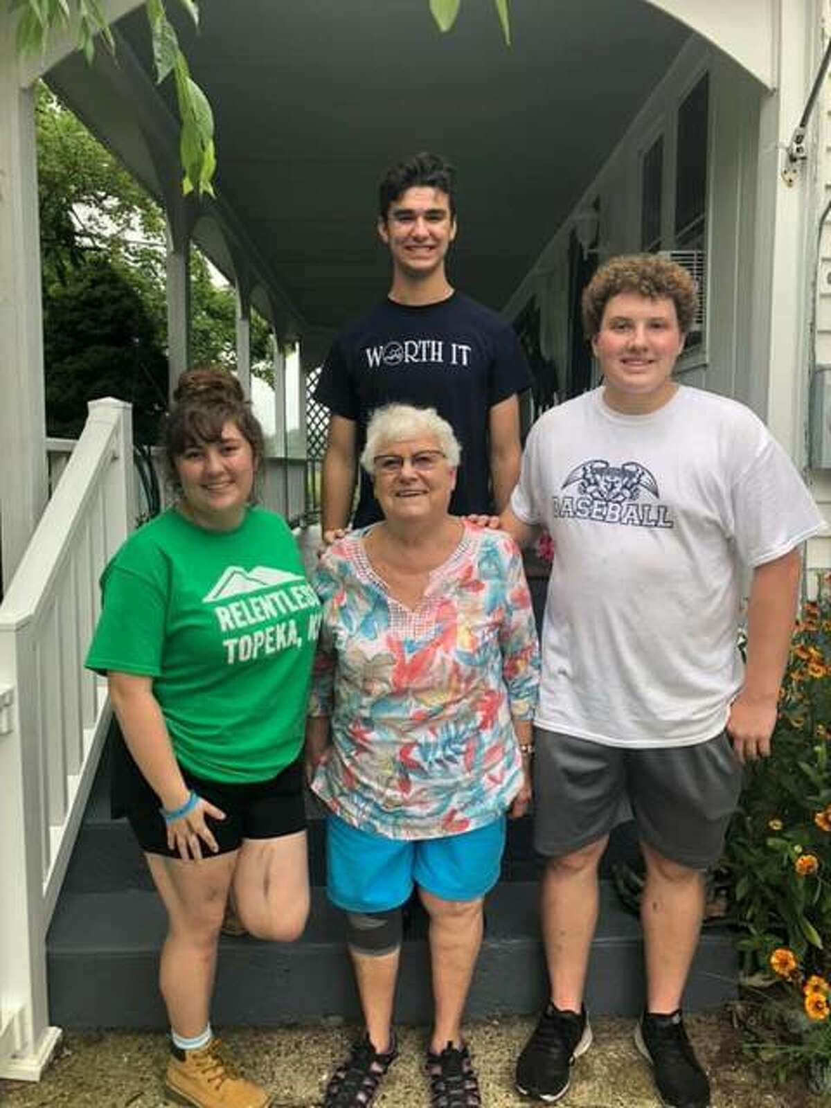Students and chaperones were sent in crews to different locations throughout the area and assigned tasks such as painting, cleaning, building porches and making repairs around each house.