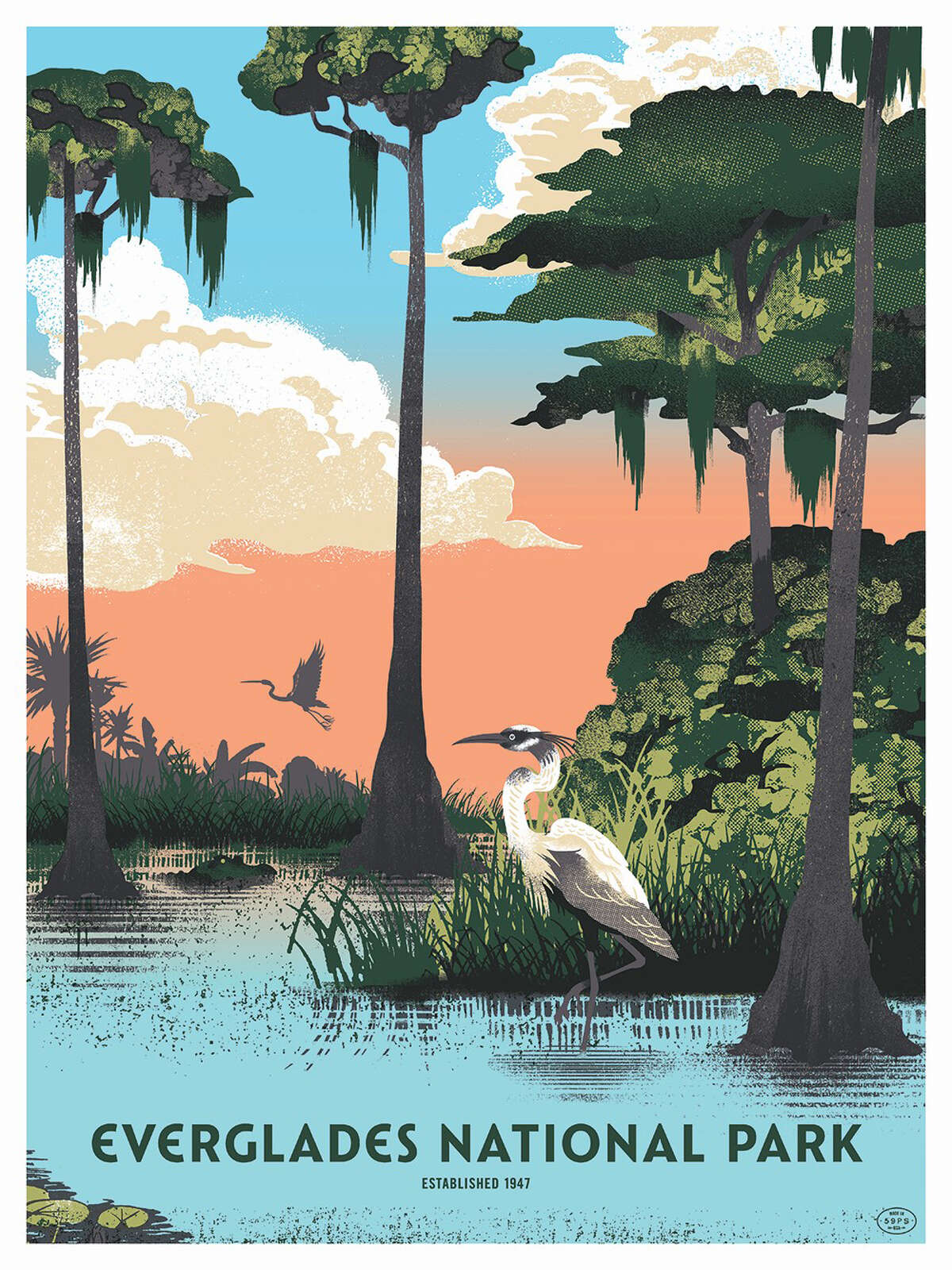 """The Everglades, in Florida, is """"the embodiment of that southern gothic drawl you must roll up your pants and trudge through a swamp to truly understand,"""" according to """"The Art of the National Parks."""""""