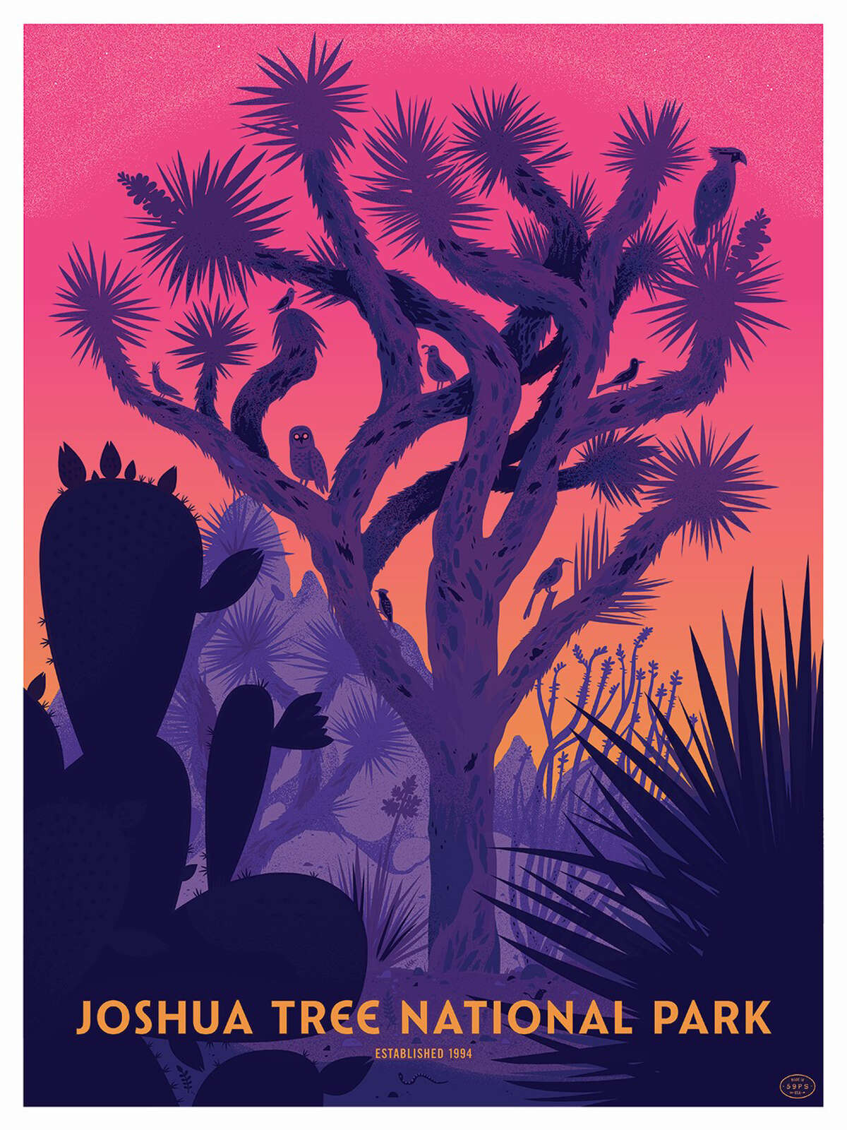 """""""The park is most famous for the eponymous Joshua tree,"""" according to """"The Art of the National Parks."""""""