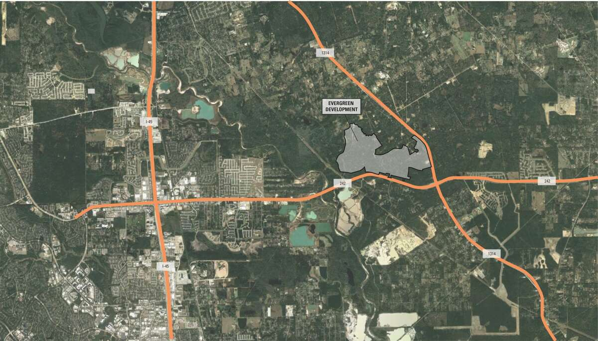 Shea Homes purchased 740 acres at the northwest corner of FM 242 and FM 1314 in Conroe for the Evergreen community. The land was purchasedfrom Cooper Rose LLC in 2020.