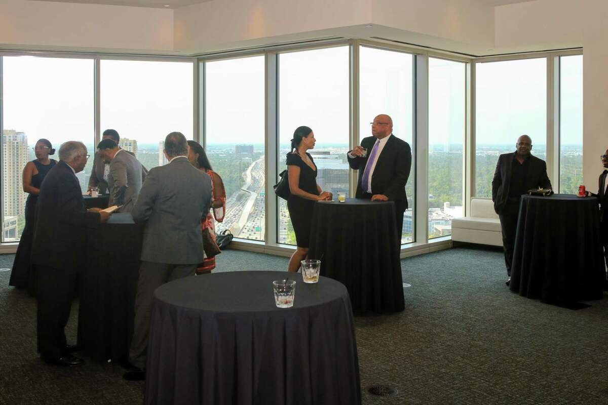 Members of the Houston Black Real Estate Association at the bi-annual gala.