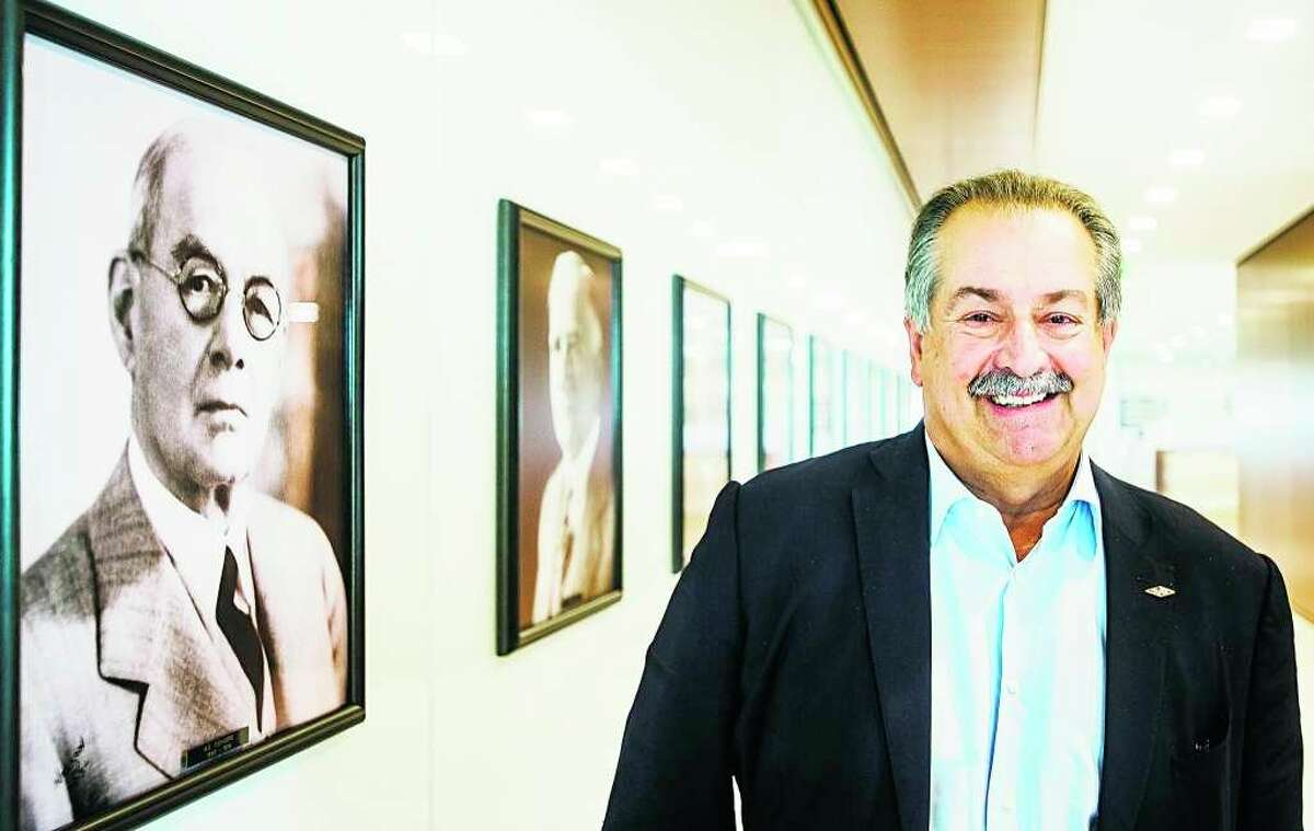 Former Dow Chemical Chairman and CEO Andrew Liveris is pictured in this Midland Daily News file photo.