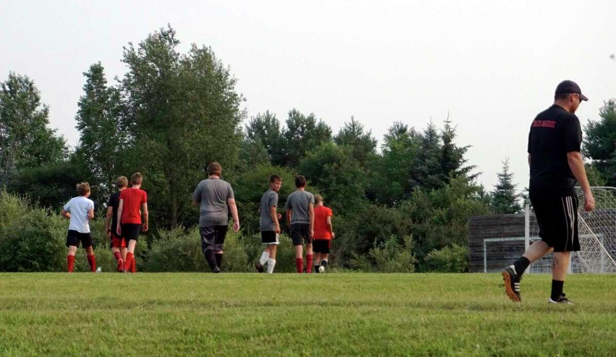 Soccer season is right around the corner for the Reed City boys. (Pioneer photo/Joe Judd)