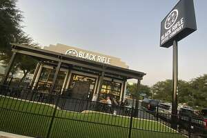 Black Rifle Coffee Co. on Bitters Road. The company's founders are facing backlash after they denounced extremist groups in a New York Times article.