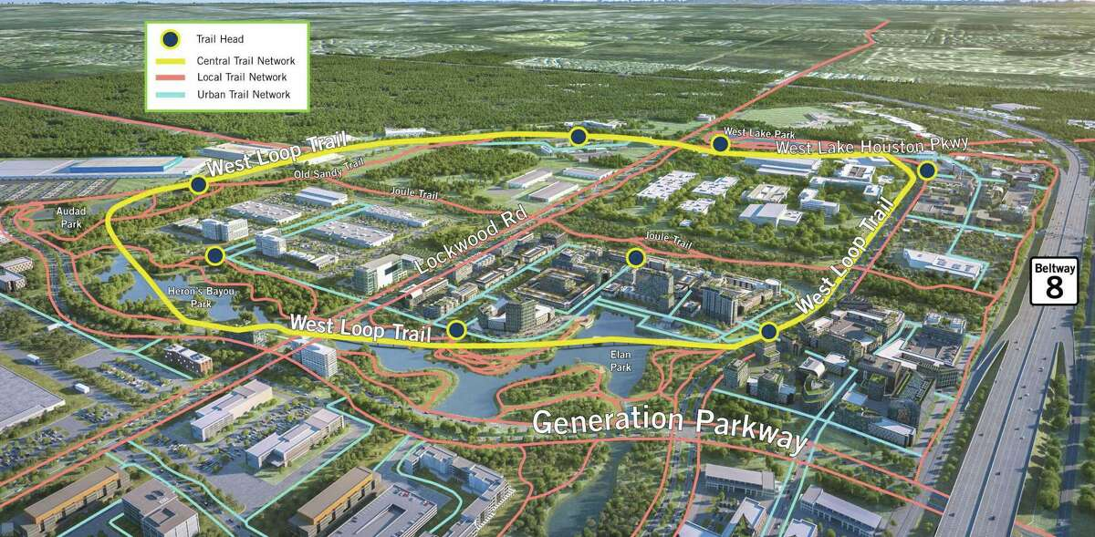McCord Development envisions a 50-mile trail system that links its site Generation Park with surrounding communities, parks and schools.