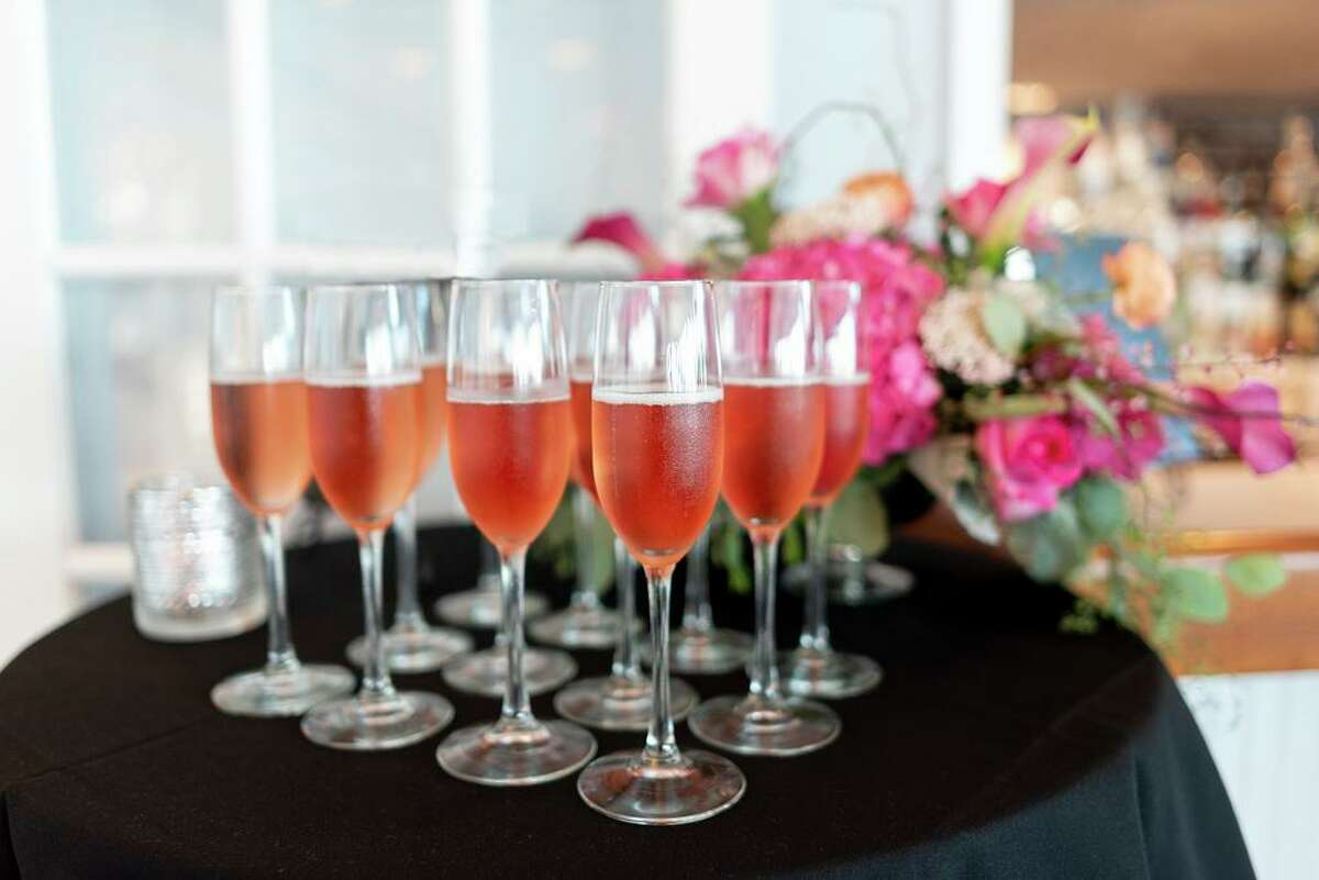 Pink champagne at An Evening in Pink