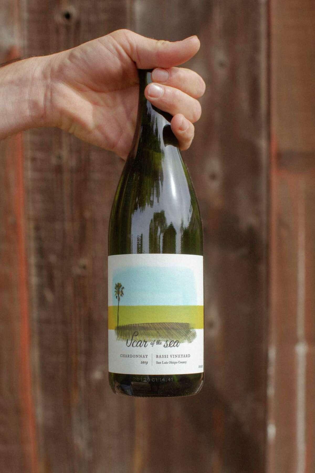 Scar of the Sea's Bassi Vineyard Chardonnay, from a vineyard in Avila Beach in San Luis Obispo County.