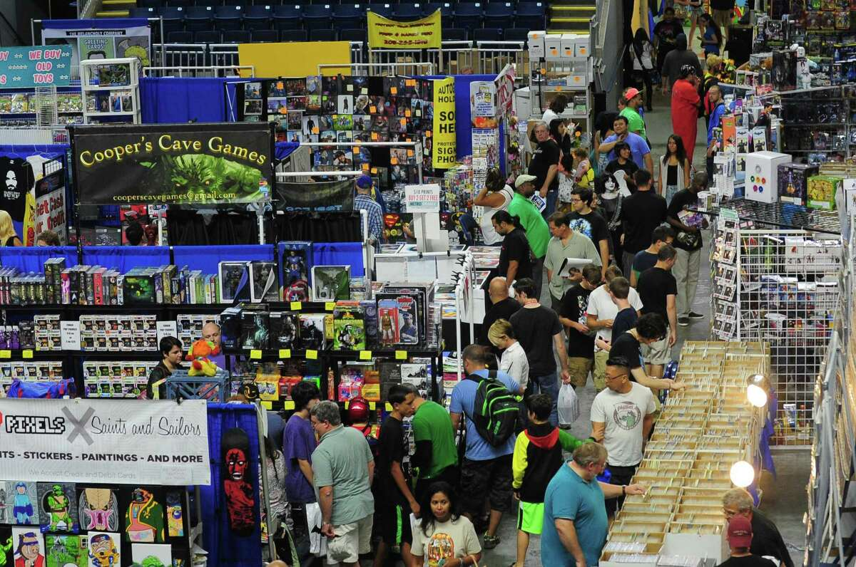 The 2014 installment of ComiConn at Webster Bank Arena in Bridgeport, Conn.